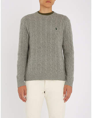 Polo Ralph Lauren Cable-knit wool-blend jumper