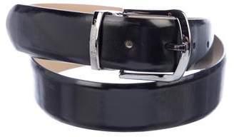 Emporio Armani Leather Buckle Belt