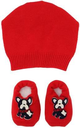 La Perla Dog Wool Knit Hat & Socks Set