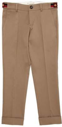 Gucci Cotton Stretch Gabardine Pants