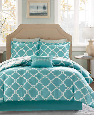 Madison Park Essentials Merritt Reversible 9-Pc. King Comforter Set Bedding