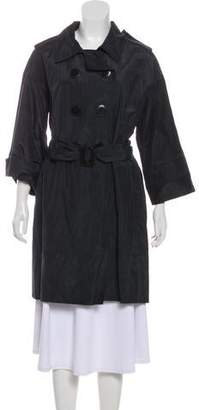 Robert Rodriguez Double-Breasted Knee-Length Coat w/ Tags