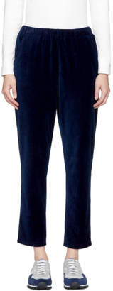 Blue Blue Japan Indigo Velour Trousers