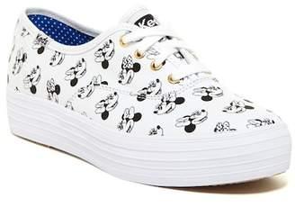 Keds Triple Minnie Mouse Platform Sneaker $60 thestylecure.com