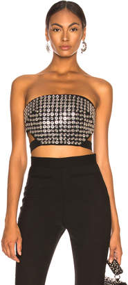David Koma Metal Disc Bustier