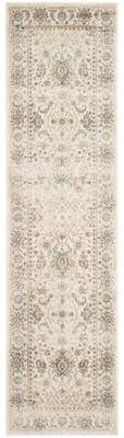 BEIGE Darby Home Co Persian Garden Vintage Area Rug Darby Home Co