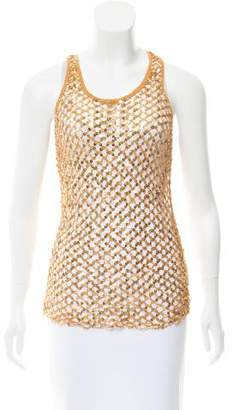Dolce & Gabbana Crochet Sleeveless Top