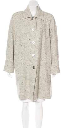 Michael Kors Wool Knee-Length Coat