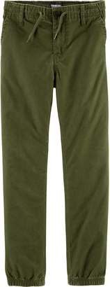 Osh Kosh Oshkosh Bgosh Boys 4-14 Poplin Jogger Pants