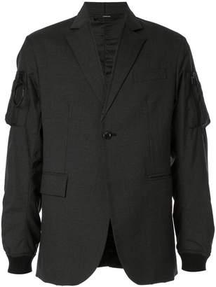 Komakino button tailored jacket