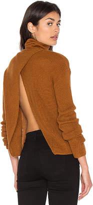 Lovers + Friends x REVOLVE Tia Sweater in Cognac $140 thestylecure.com