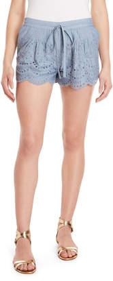 Roche St. Tiggy Eyelet Lace Shorts