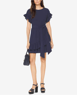 Michael Kors MICHAEL Ruffled Dress, Regular & Petite