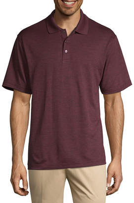 Haggar Mens Collar Neck Short Sleeve - Polo Shirt