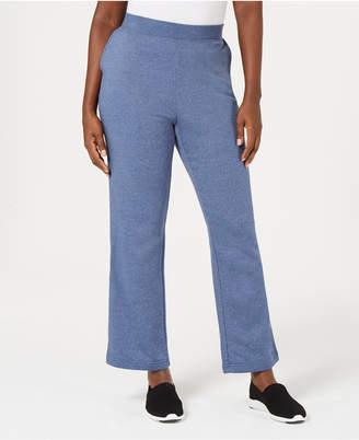 Karen Scott Petite Fleece Sweatpants
