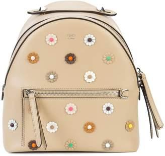 Fendi mini flower embellished backpack