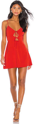 superdown Evie Tie Front Dress