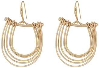 Robert Lee Morris Gold Gypsy Hoop Earrings Earring