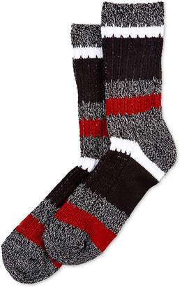 Hue Super-Soft Ribbed Stripe Boot Socks