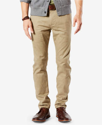 Dockers Men Stretch Original Skinny Fit Alpha Khaki Pants