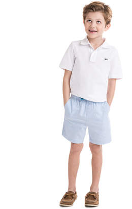 Vineyard Vines Boys Oxford Stripe Jetty Shorts