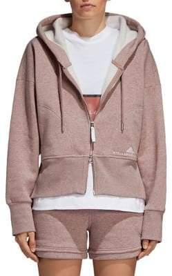 Stella McCartney Essentials Fleece Drawstring Hoodie