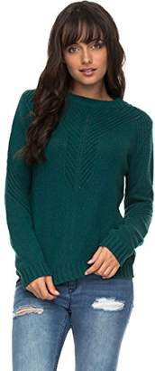 Roxy Women's Take Over The World Crew Neck Sweater