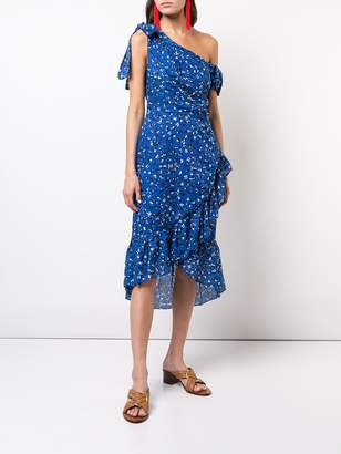 Ulla Johnson asymmetric floral summer dress