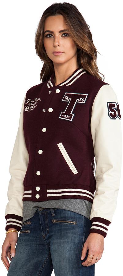 True Religion Richie Varsity Jacket
