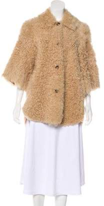 RED Valentino Shearling Short Coat w/ Tags