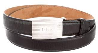 Tiffany & Co. Leather Buckle Belt