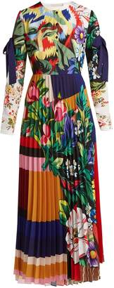 Mary Katrantzou Desmine floral-printed crepe dress