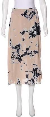 Raquel Allegra Tie-Dye Midi Skirt