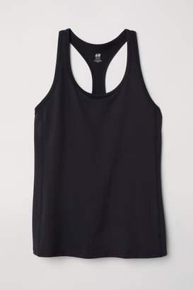 H&M H&M+ Sports Tank Top - Black