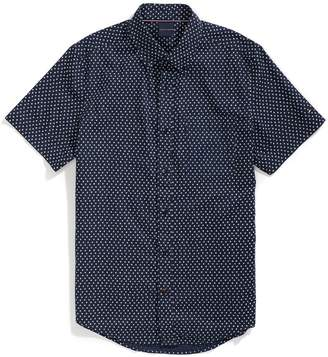 Tommy Hilfiger Slim Fit Stars Short Sleeve Shirt