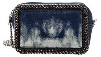 Stella McCartney Tie Dye Denim Falabella Crossbody Bag blue Tie Dye Denim Falabella Crossbody Bag