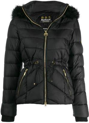 Barbour fur hooded jacket