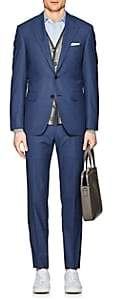Canali Men's Capri Wool Two-Button Suit - Blue