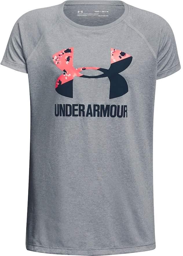 Under Armour Girls 7-16 Under Armour Big Logo Tee