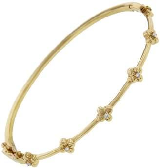 Lee Jones Collection Bloom Bangle Bracelet - Yellow Gold