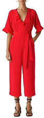 Whistles Alma Wrap Jumpsuit