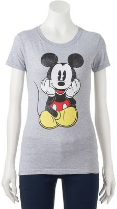 Disney's Mickey Mouse Juniors' Sitting Graphic Tee $24 thestylecure.com