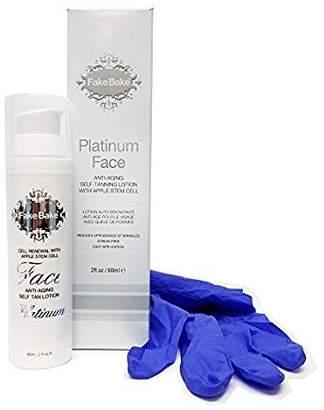 Fake Bake Platinum Face Anti-Aging Self Tan Lotion - 60ml/2oz