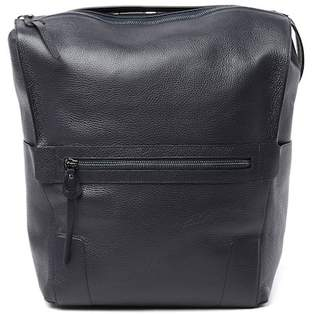 Aquatalia Hampton Pebbled Grain Leather Backpack