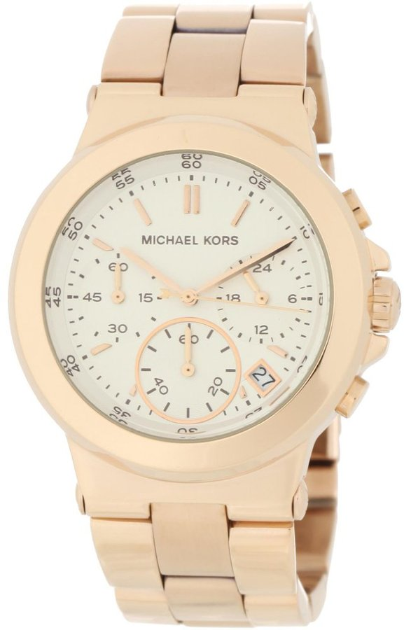 Michael Kors Dylan Rose Gold Chronograph Ladies Watch