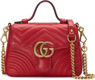 e2e1d036432c Gucci Chain Bag, Hibiscus Red - ShopStyle