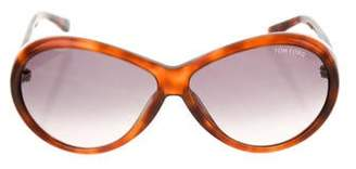 Tom Ford Geraldine Gradient Sunglasses