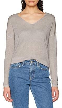 Only Women's Onlpisa L/s V-Neck Pullover KNT Noos Jumper,8 (Manufacturer Size: X-Small)