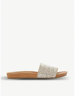 Steve Madden Fancy rhinestone-embellished flat sandal