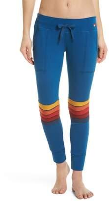 Aviator Nation Moto Stripe Sweatpants
